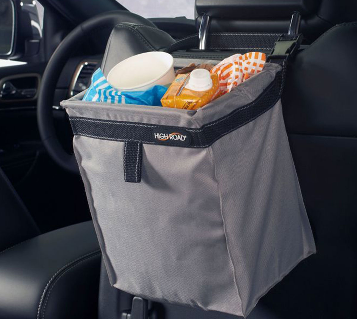 Declutter and organize car by investing in a car trash bag