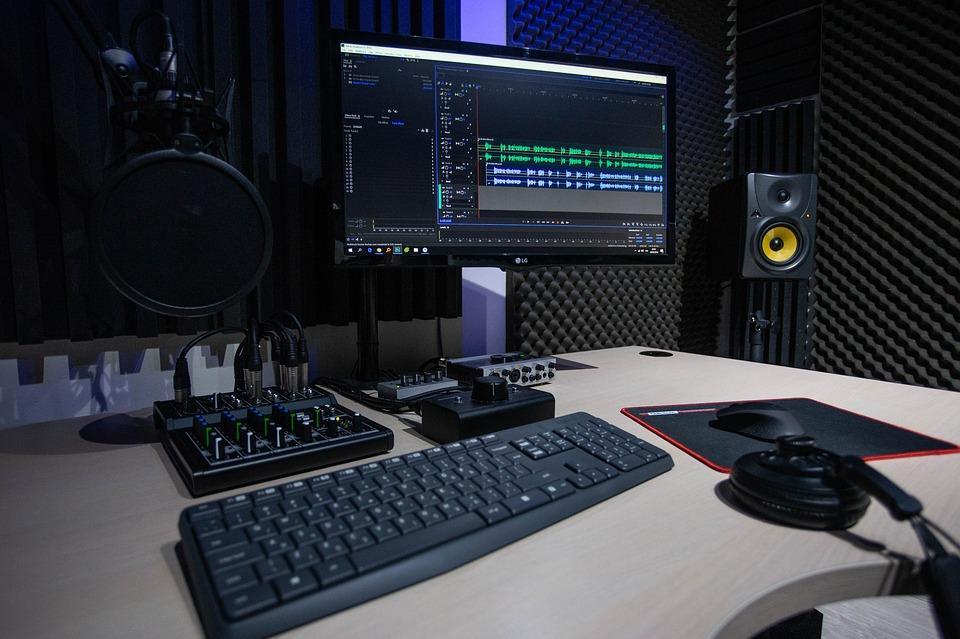 Studio, Microfono, Rec, Musica, Radio, Audio, Suono