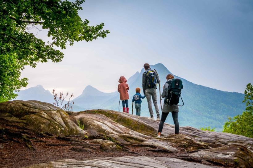 台中森林浴登山步道適合親子遊是因為難度比較容易和輕鬆