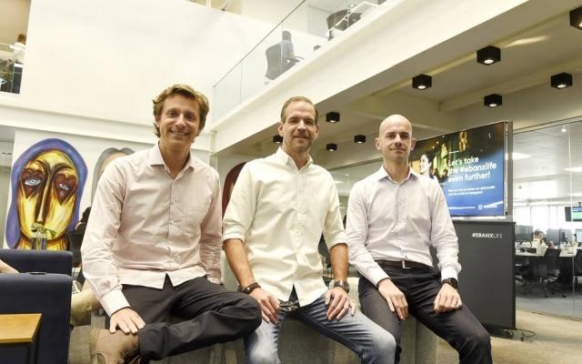 Voigt, Ruiz e del Valle: trio de formações diferentes fundou a Ebanx em 2012, em Curitiba