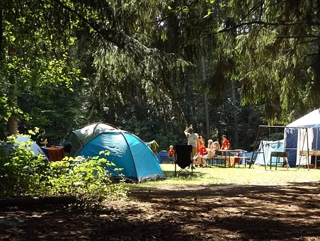 perfect family camping trip