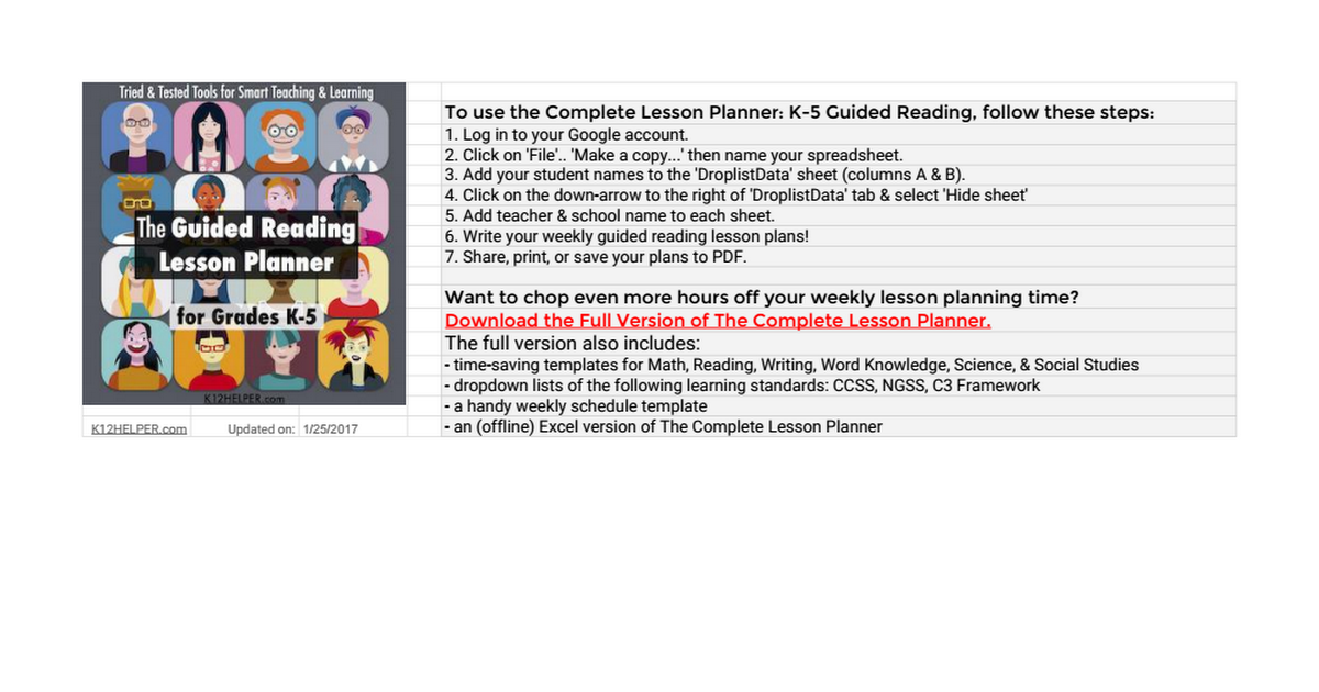 lesson plan of selected reading It can be downloadable and printable once you select the appropriate reading topic for your the guided reading lesson plan template is an effective and well.
