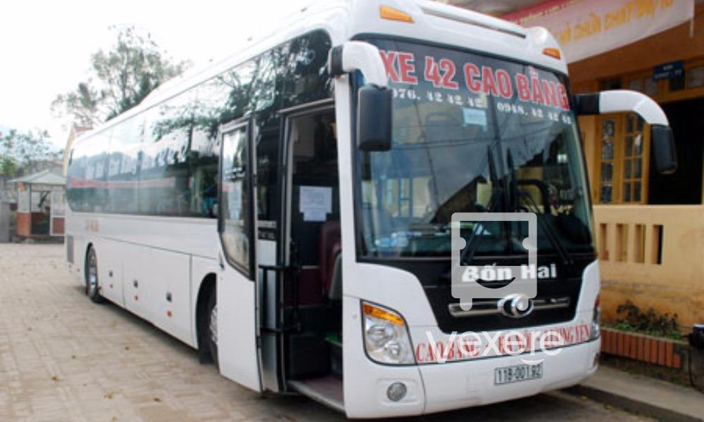 Xe 42 từ Hà Nội đi Cao Bằng