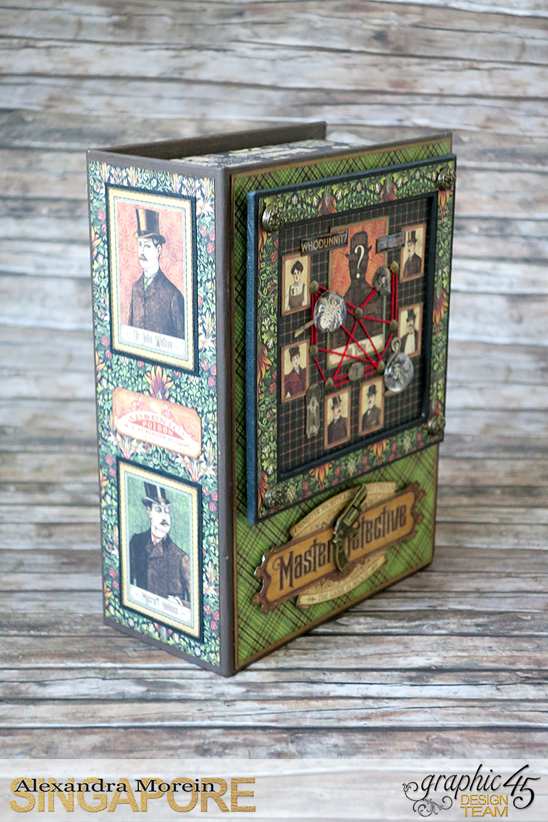 Master Detective Box and Albums, Project by Alexandra Morein, Product by Graphic 45, Photo 3.jpg