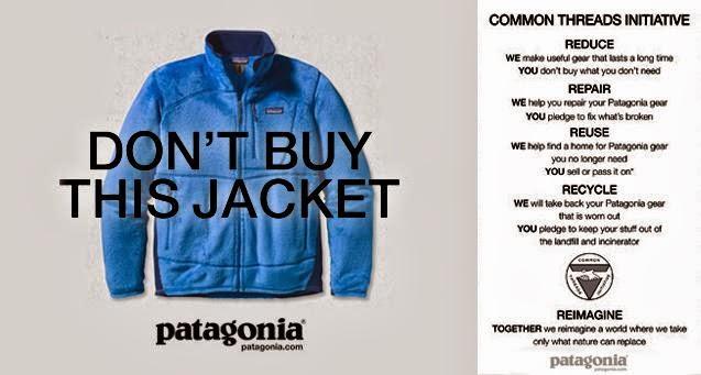 Don't Buy This Jacket Patagonia Ad
