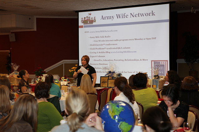 Army Wives Network Seminar at Fort Gordon