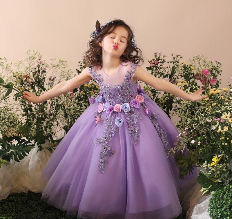Sukienki dla dziewczynek długie
