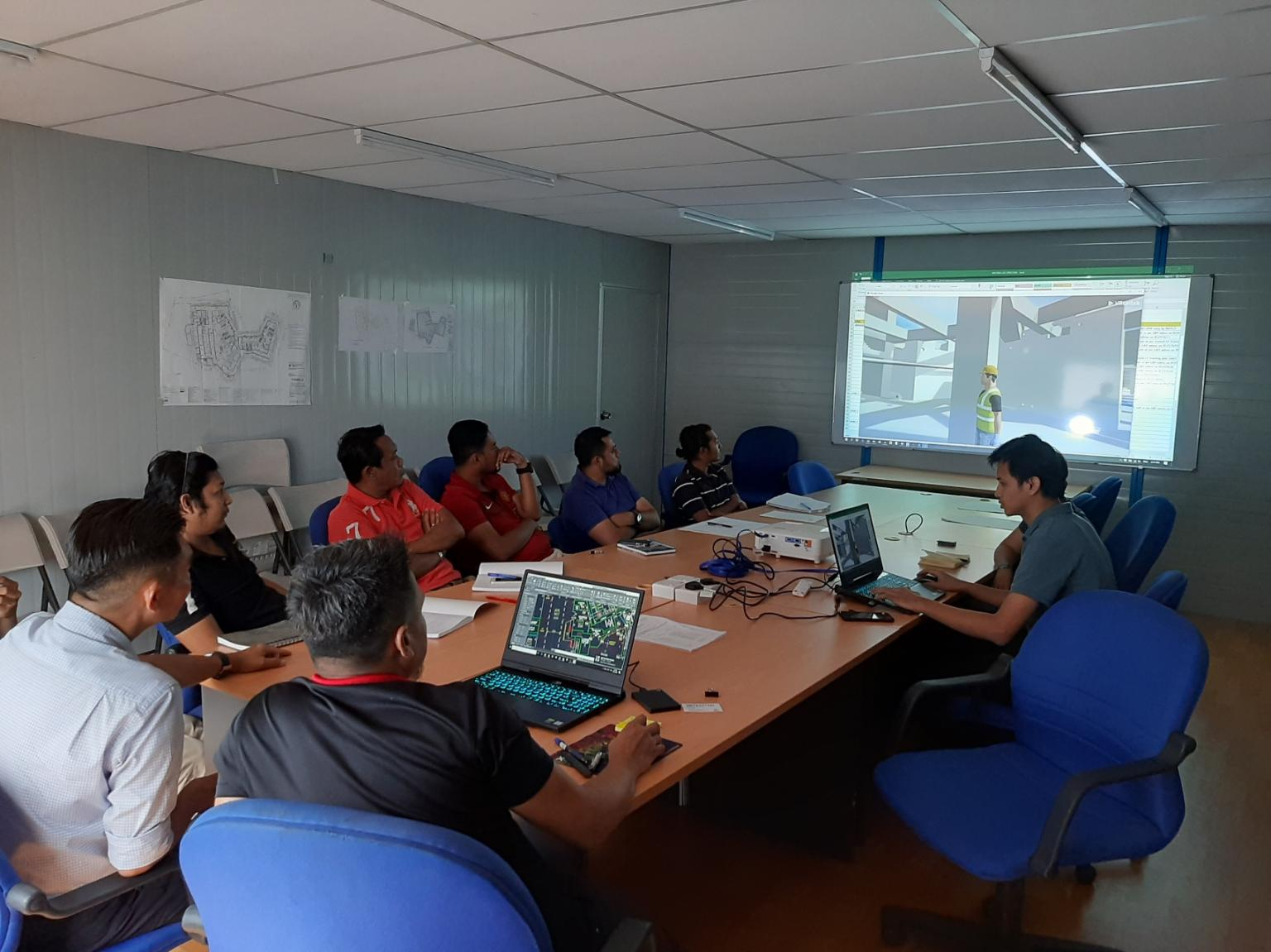 China Construction Development (Malaysia) Sdn Bhd, subsidiary of CCDC, using VRcollab during coordination meetings.