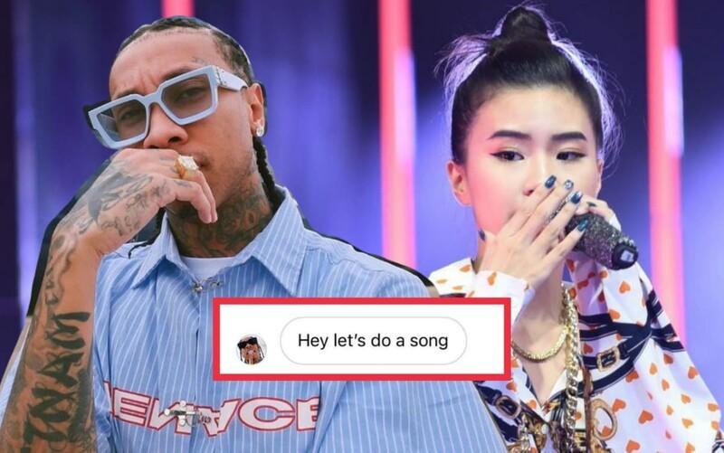 Pháo được đích thân rapper nổi tiếng Tyga nhắn tin ngỏ lời hợp tác