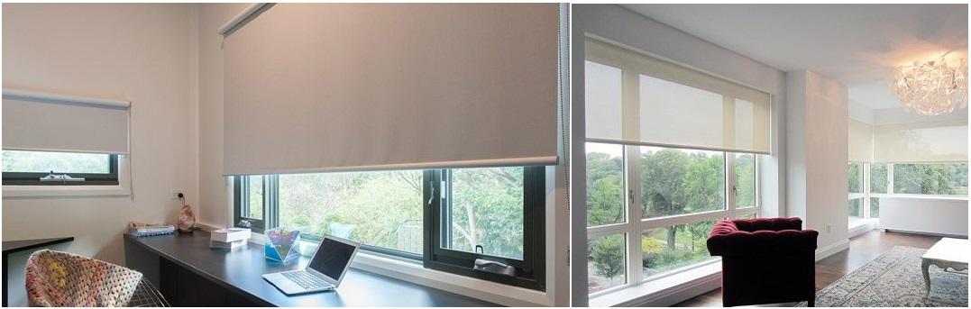 cortinas para ventanas abatibles
