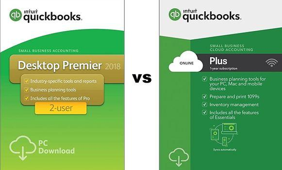 QuickBooks Online vs QuickBooks Desktop - Pros and Cons