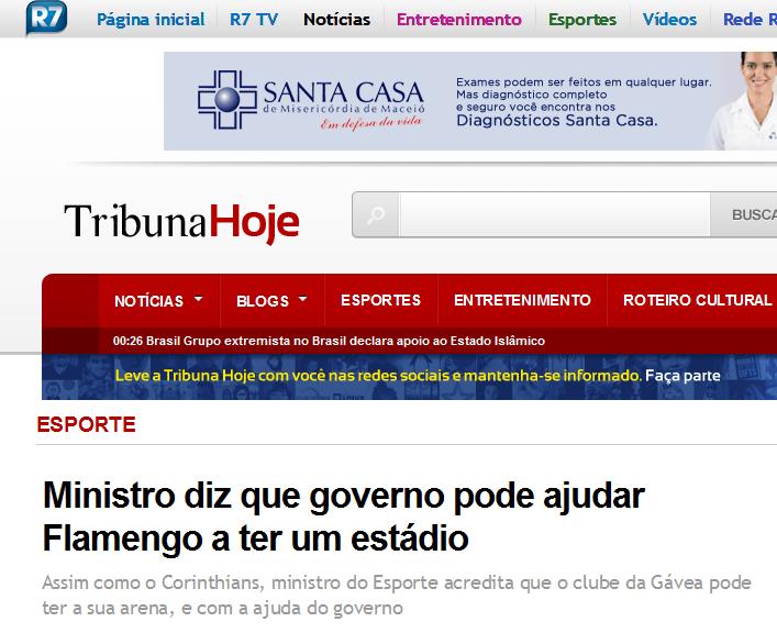 A cada ano, uma mentira nova sobre o estádio do Flamengo