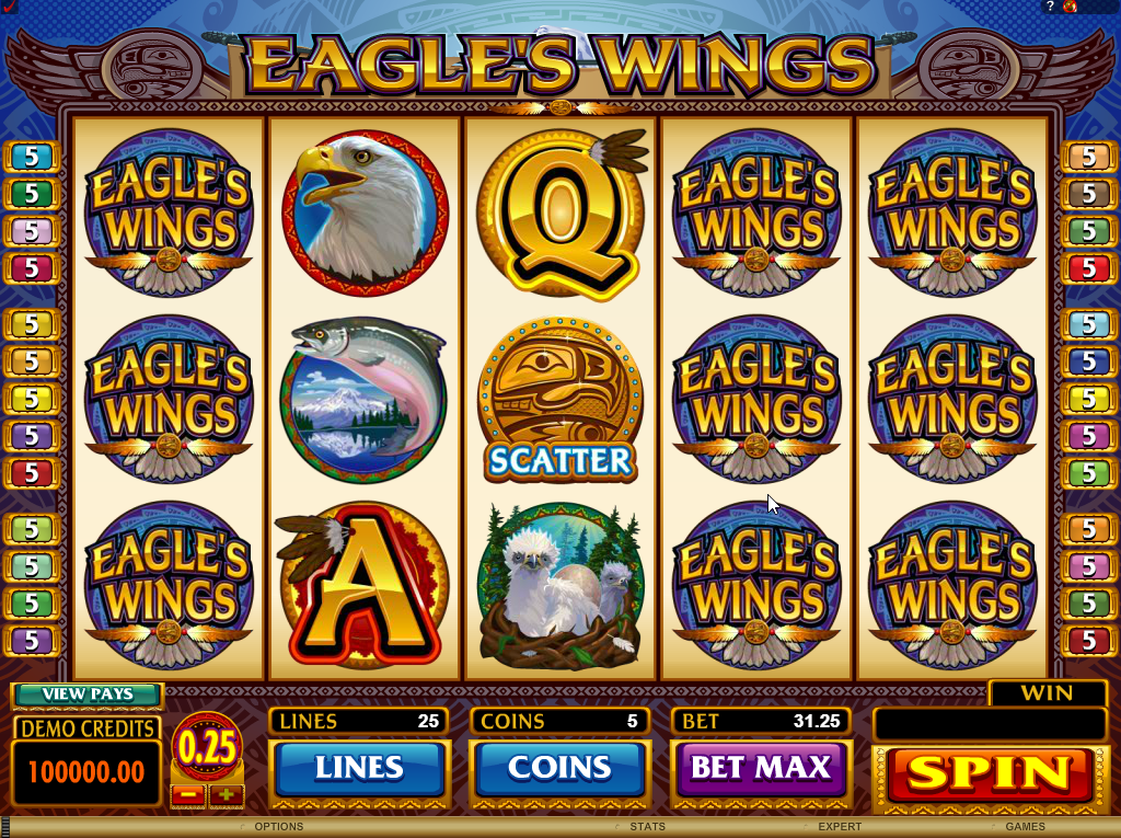 Eagle's Wings Slots Machine Review