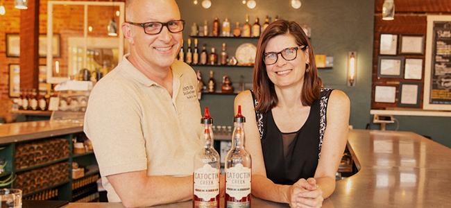 Becky Harris And Scott Harris Of Catoctin Creek Distilling Company