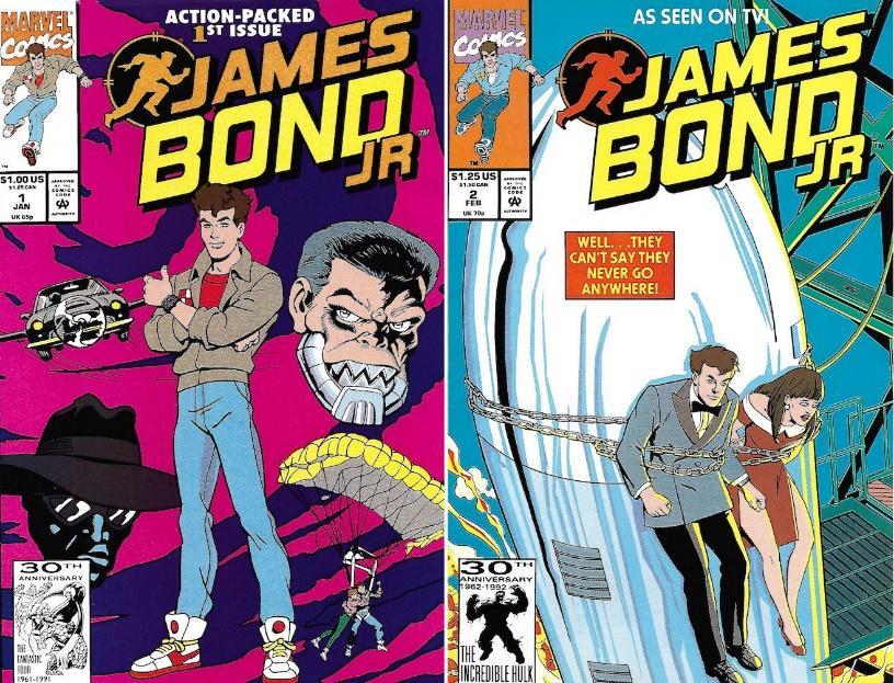 The Book Bond: JAMES BOND JR. Marvel Comics