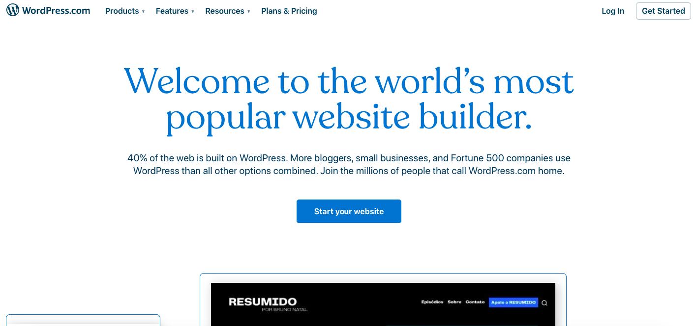 best blogging platform wordpress