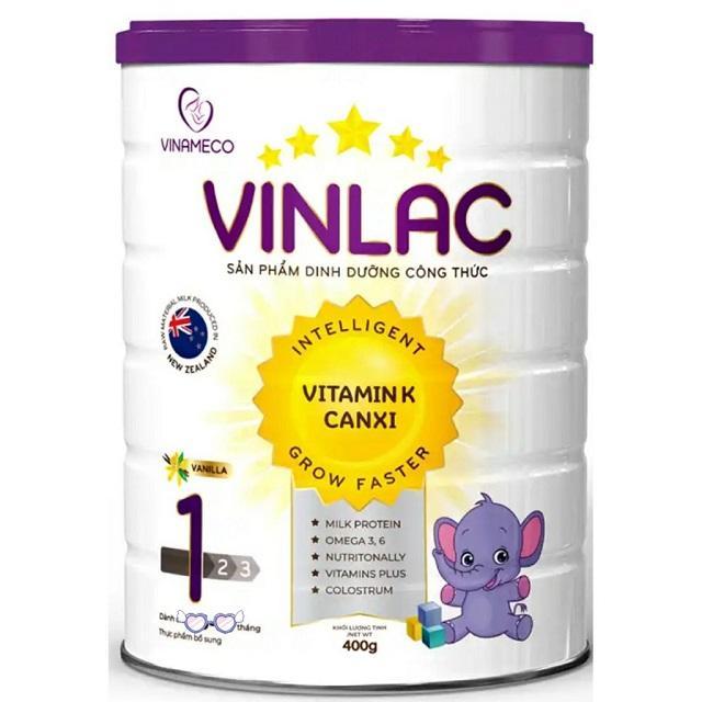 Sữa tăng cân cho trẻ Vinlac - Sản phẩm dinh dưỡng hàng đầu Việt Nam 3