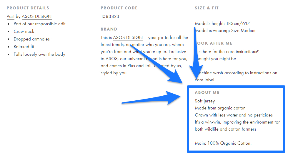 Product Descriptions: How to Write a Product Description That Sells [Examples + Template] 18