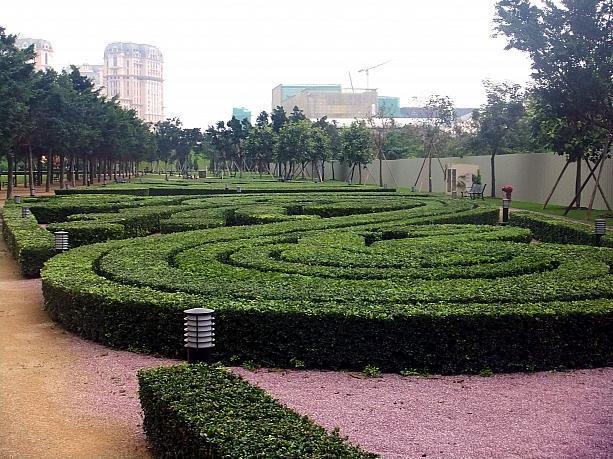 ヨーロッパの庭園のようです