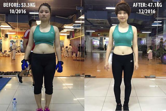 Tập gym giảm cân