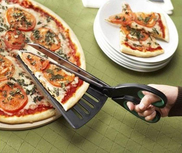Ножницы для пиццы дизайн, идея, креатив