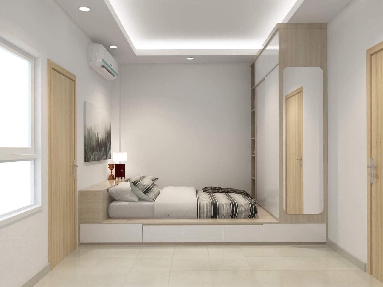 Thiết kế phòng ngủ chung cư đẹp và hài hòa