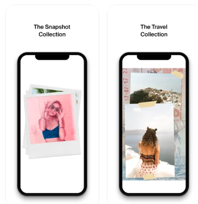 Snapshot and Travel Collections Instagram Stories Templates