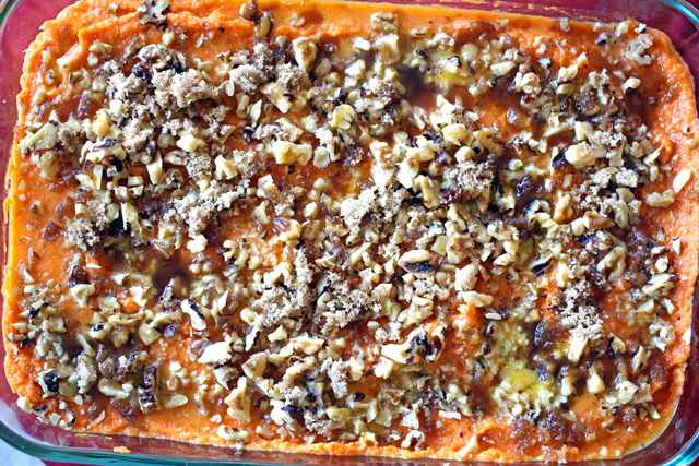 Sweet Potato Casserole from dontmissdairy.com