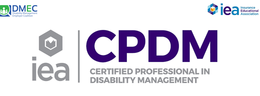 Certified Professional In Disability Management