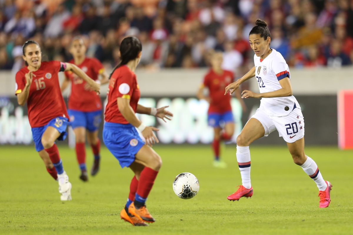 A closer look at Christen Press stats and highlights from USA vs ...