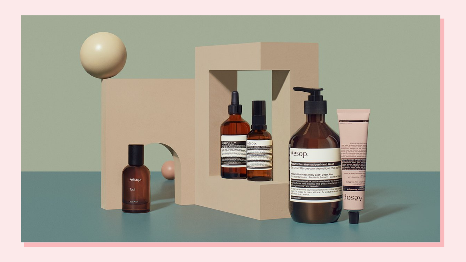 Shop Aesop for New year's resolution healthy habits