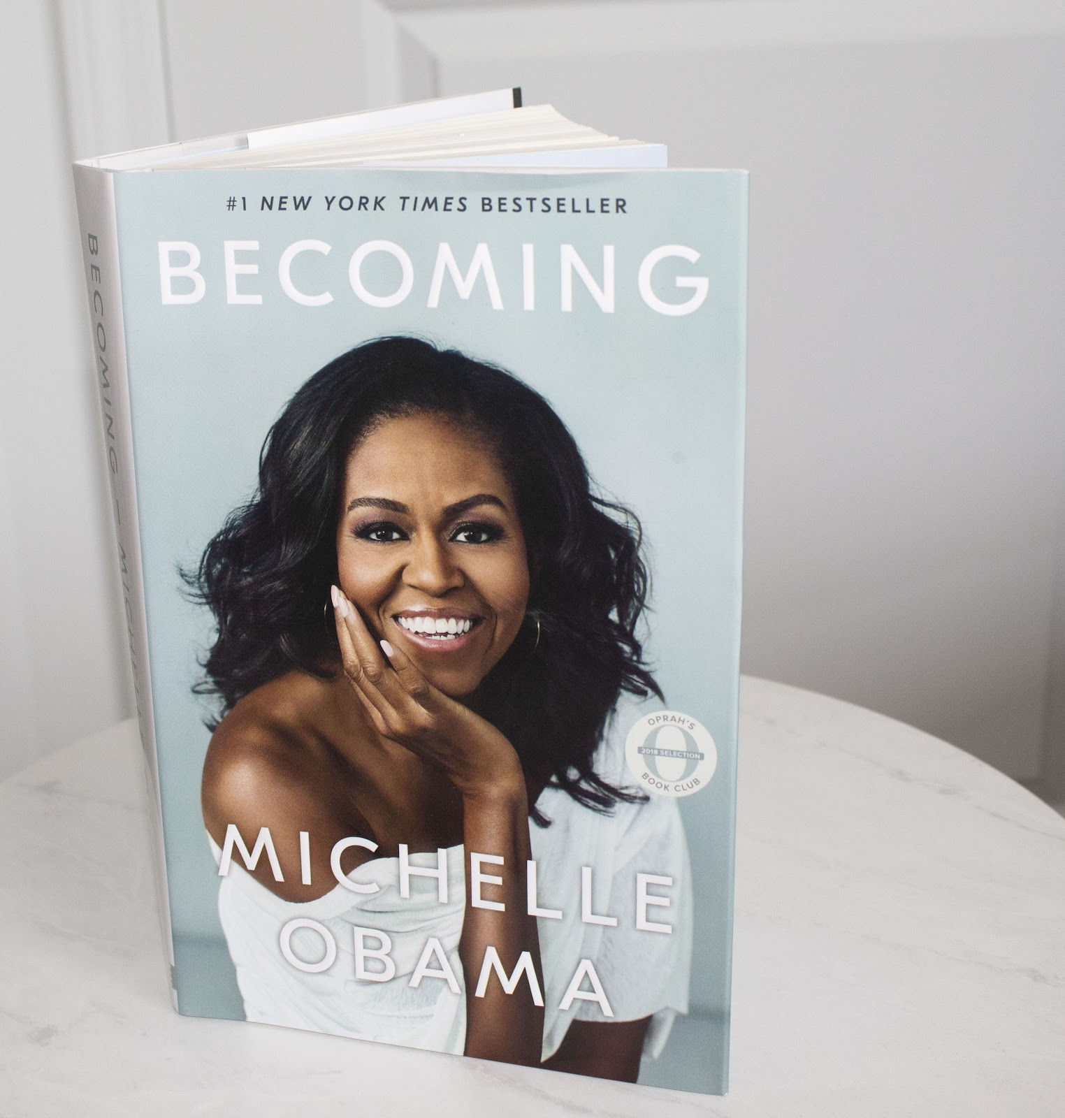 """""""Becoming"""" by Michelle Obama Patience & Pearls"""