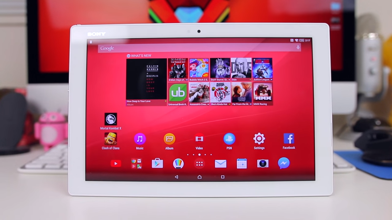 1.png, display Xperia Z4 Tablet