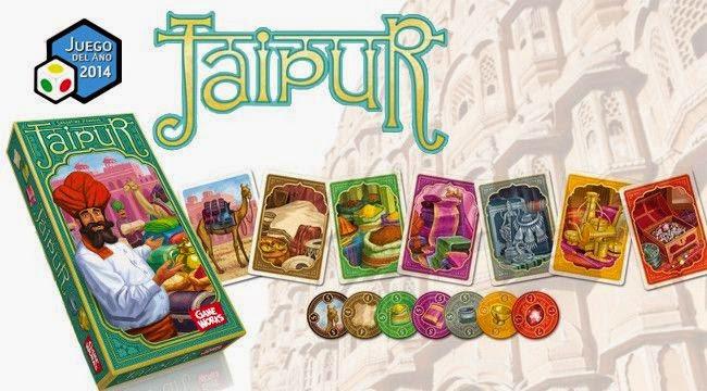 Juegos de Mesa. Jaipur