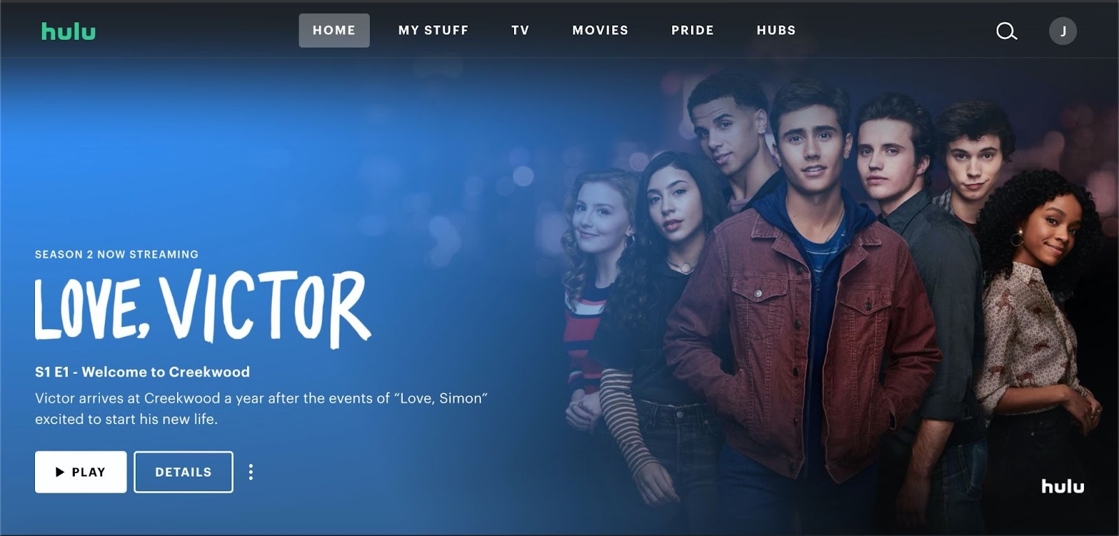 View and Clear Hulu Watch History