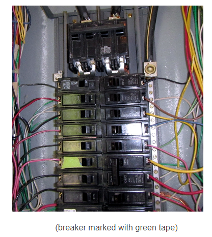 breaker when running the coffee pot and toaster at the same time  they  even marked the circuit breaker in the panel because it tripped often (sure  made