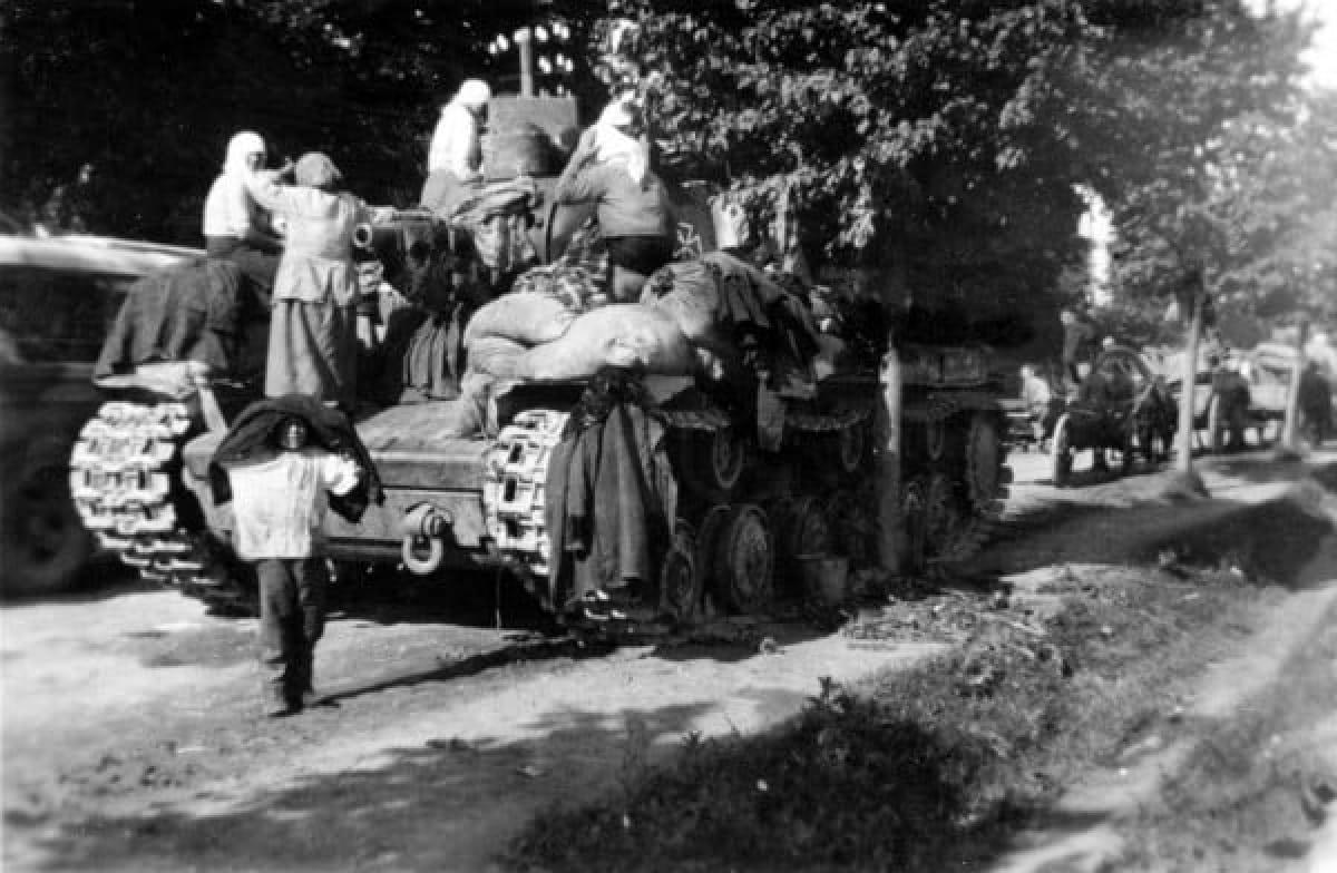 Вторая мировая, оккупация