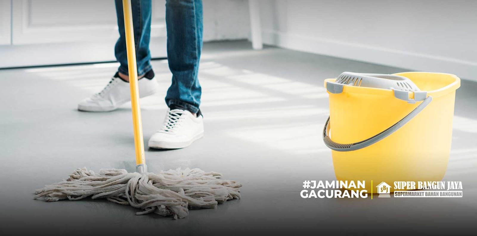 Cara merawat lantai keramik yang mulia