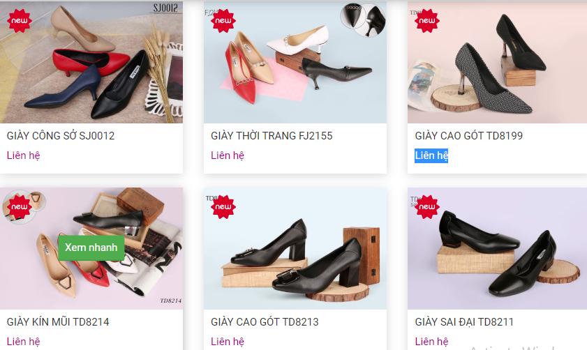 Thiên Hương Shoes - Xưởng giày dép sỉ uy tín nhất hiện nay