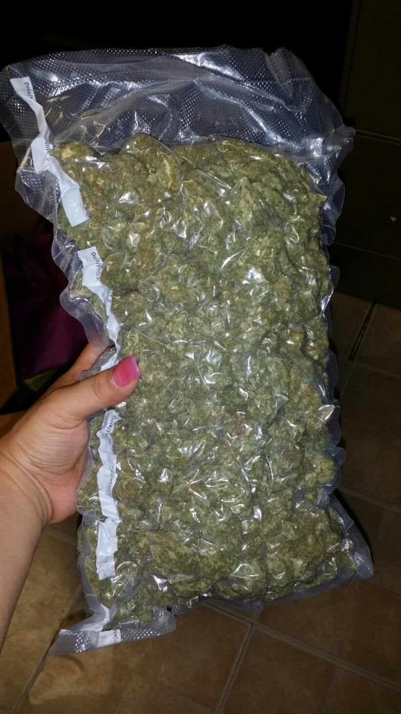 1 pound bag of weed