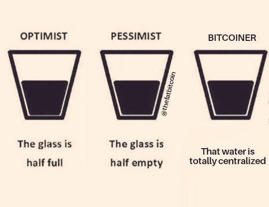 Bitcoiners want