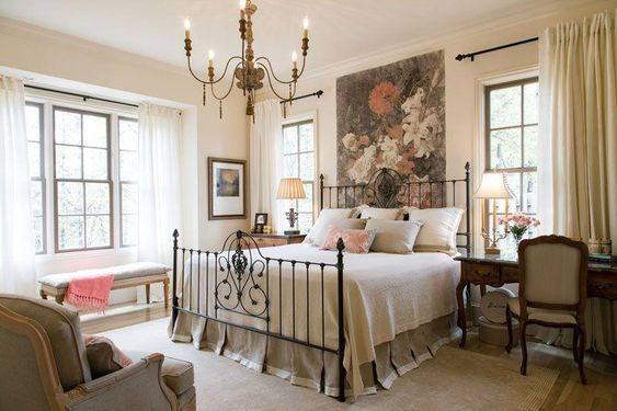 French Country Design Bedroom Ideas for Women