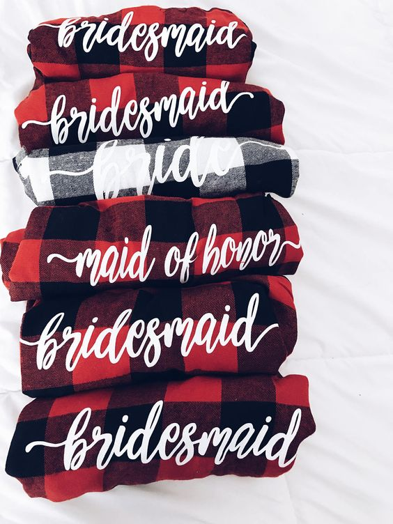 bridesmaid pjs
