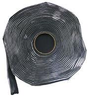 "1 1/2"" x 30' Black Butyl Tape"