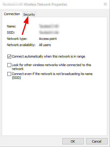 Find Network Security Key on Windows 10. Network and Sharing Center > Wi-Fi Status > Security. Source: nudesystems.com