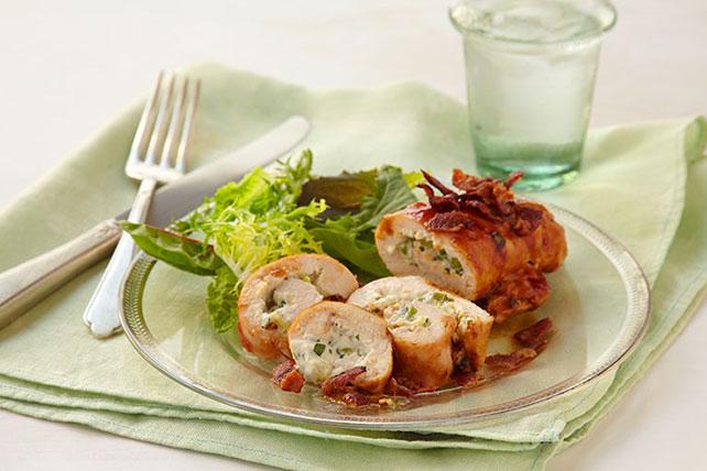 Stuffed Chicken Roll-Ups