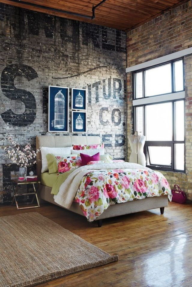 Industrial Style Touches The Feminine Look
