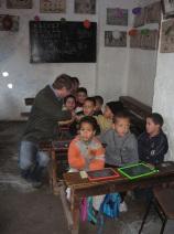 Une classe à Fès. Source: Wikicommons, Licence Creative Commons.
