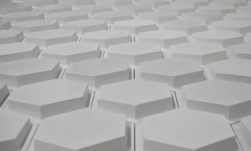 Revestimento Hexagon