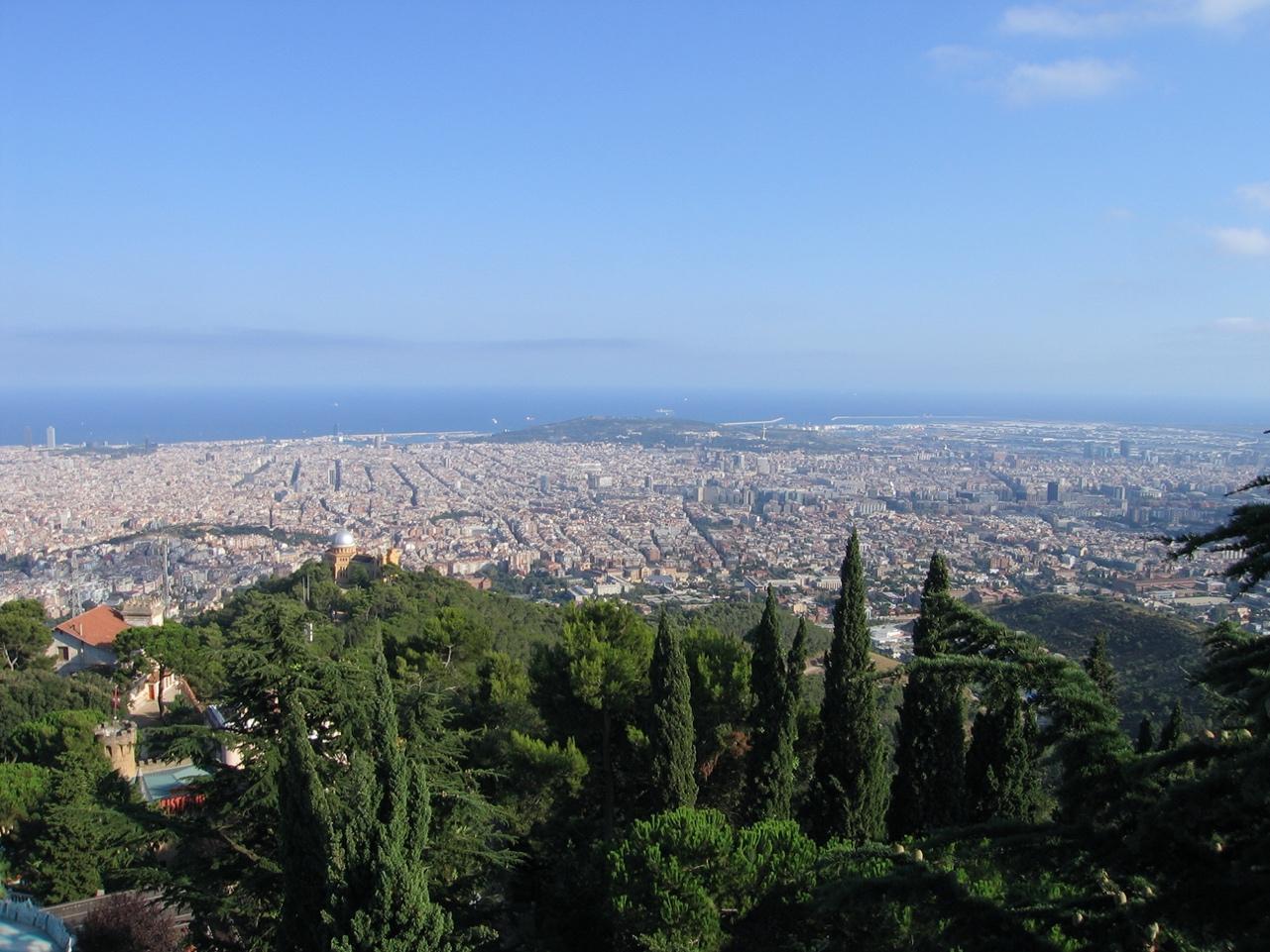 mirador d'horta swing view barcelona